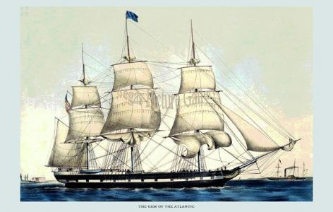 Fine art print of the The Gem of the Atlantic